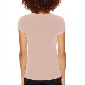 AMBIANCE APPAREL Ballerina Pink Fitted Baby Tee